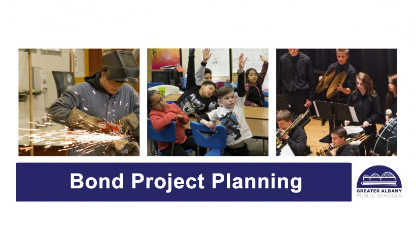 Bond project planning graphic