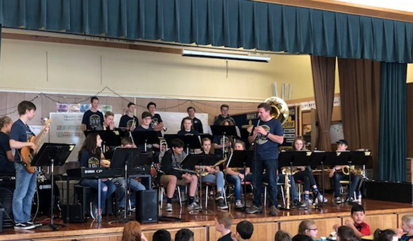 West Albany High School Jazz Band